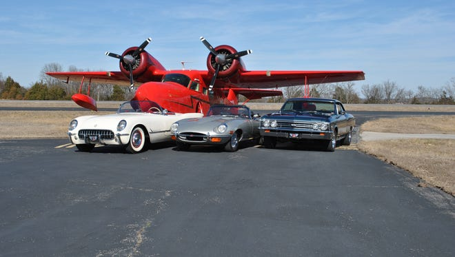 """The Grumman Widgeon G-44 from ABC's '80s-era show """"Fantasy Island"""" goes to auction, along with classic cars, April 16 in Branson."""