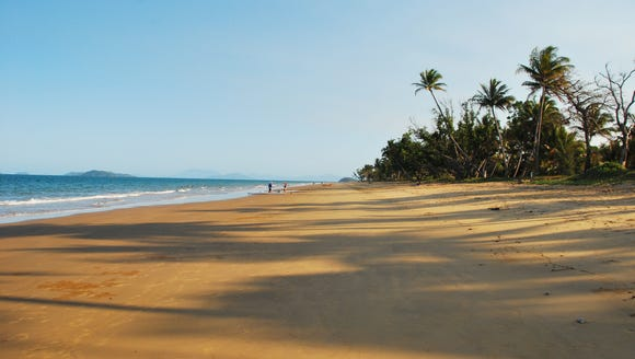 Mission Beach in Far North Queensland, Australia.
