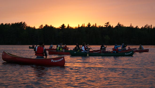 Each year the Wilson Outdoor Club heads north to Camp Pathfinder