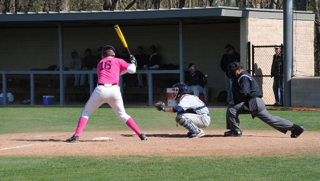 Cavalier baseball players will wear pink jerseys for their game on Tuesday, April 12 in support of breast cancer awareness.