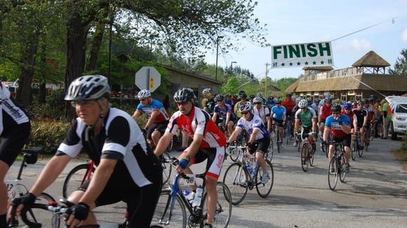 The Tour de Cashiers Mountain Cycling Experience is May 14 starting in Cashiers.