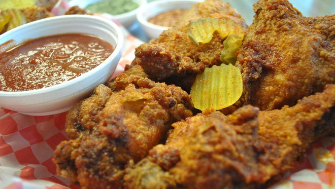 The large, dark meat order of chicken at Stinger's in Tamuning comes with four huge pieces of chicken, with two sides of your choice. Even for a huge fried chicken lover, it may be too much for one meal.