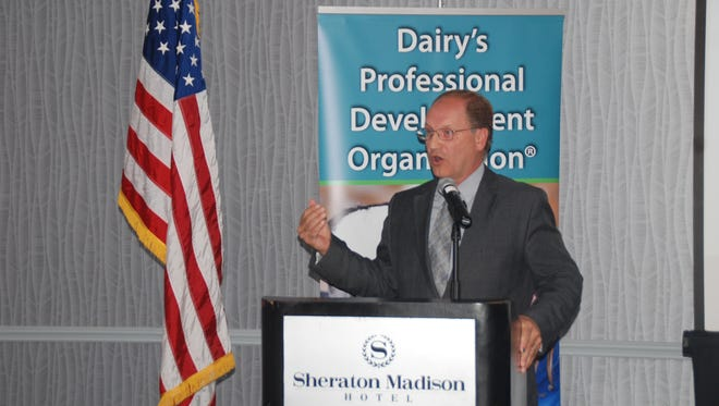 "Wisconsin Secretary of Agriculture, Trade and Consumer Protection Ben Brancel spoke at a PDPW-sponsored Food and Policy Summit in Madison last week. He talked about recent controversies including food labels for ""non-GMO."""