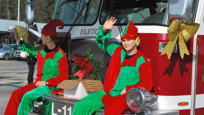 Fletcher's holiday parade is Dec. 9.