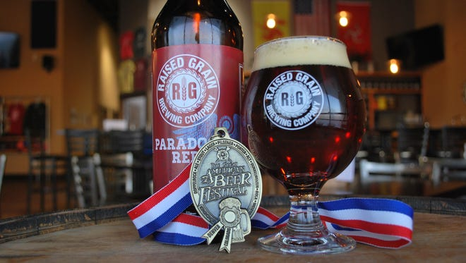 The medal-winning Paradocs brew from Raised Grain will be available in bottles this week.