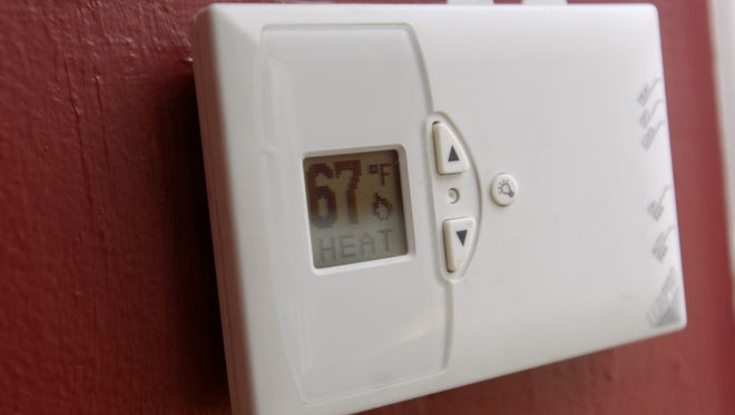 A Grand Ledge family used space heaters after the gas was shut off Jan. 19. It was restored Thursday.
