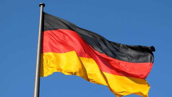The display of Nazi emblems is illegal in Germany.