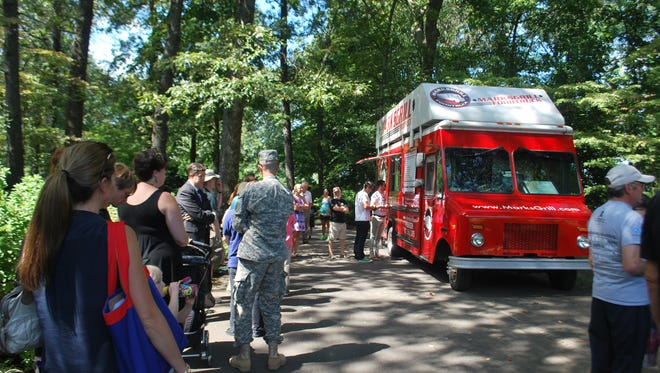 Food Truck Fridays at Dixon Gallery and Gardens are held every Friday April through October with free admission to the gardens.