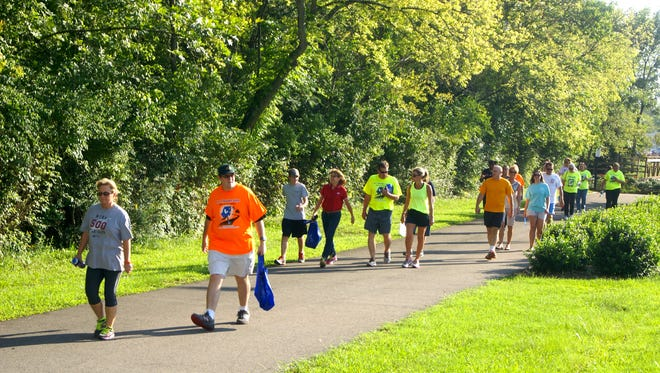 Join the community in a series of walks for Get Healthy Sumner Month.