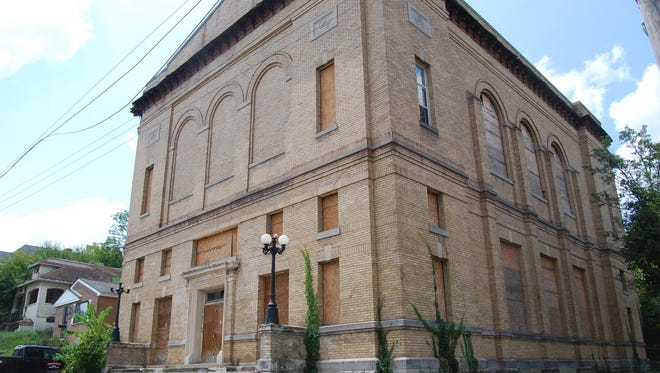 Plans are to convert a former Masonic Lodge on Price Avenue into an arts and event center for the community. Aug. 14, 2017