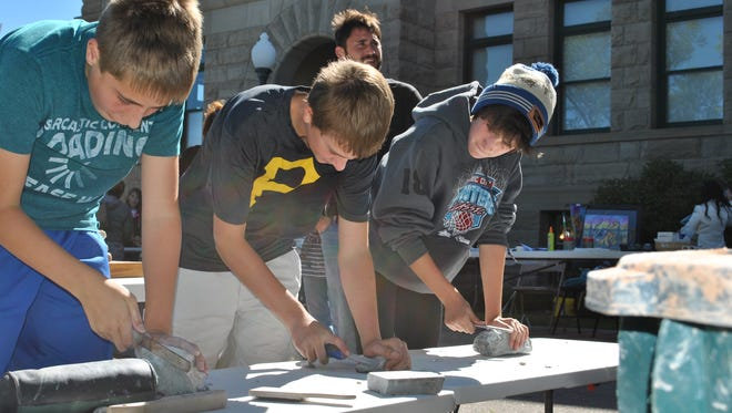 Arts on Fire's hands-on activities Saturday include ceramics, pottery, oil painting and weaving.