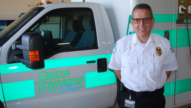 Scott Souders is the new chief of the Green Township Fire and EMS Department.