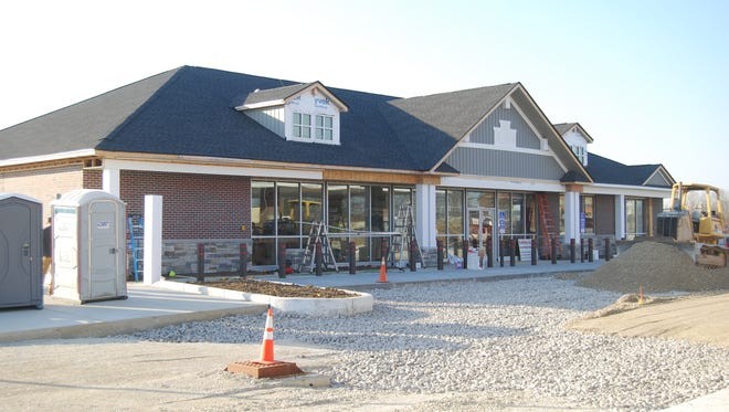 A new expanded United Dairy Farmers will open on Harrison Avenue in Green Township in December. Nov. 29, 2017