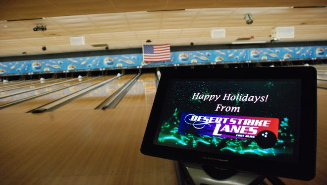 Desert Strike Lanes at Fort Bliss has several holiday events planned.