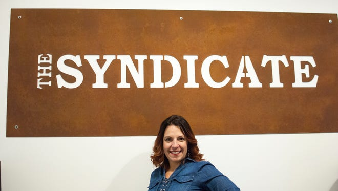 Tracey Zucatti is one of the founding partners of The Syndicate. She had become a huge fan of several college radio bands while in college and was inspired to start the company 20 years ago with a few friends.