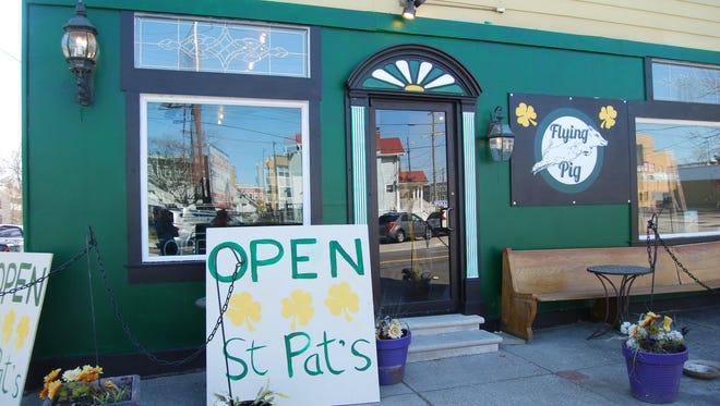 A new Oakley pub, the Flying Pig Irish Pub, will have a pre-opening party St. Patrick's Day. It is located at 3265 Brotherton Road.
