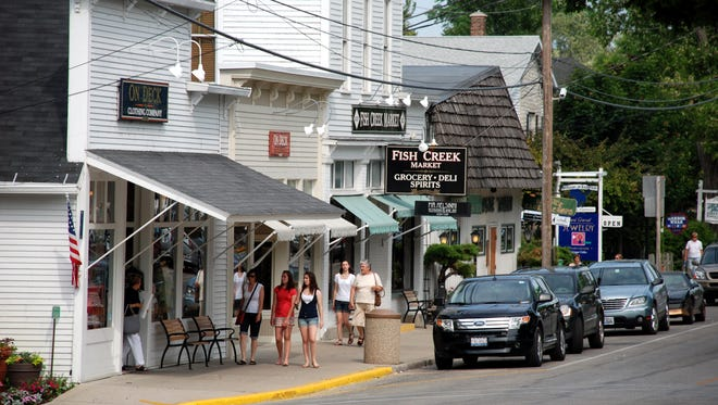 Door County's Fish Creek is home to the Peninsula Music Festival.