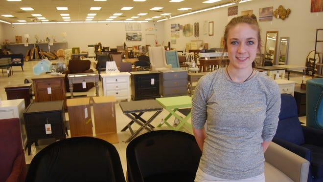 Amanda Tribble is owner of Cincinnati Open Box Outlet along with her husband, Taylor. The business is moving from Delhi Township to Bridgetown.