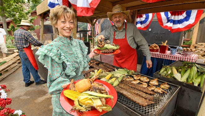 Through Memorial Day (May 28), Silver Dollar City in Branson, Mo. is presenting its annual Bluegrass and BBQ Festival.
