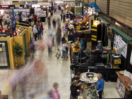 The 36th Home & Garden Show at Four Seasons Arena opens