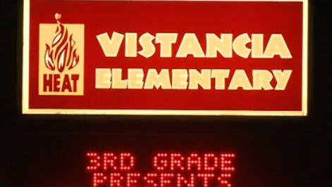 Vistancia Elementary School in Peoria.