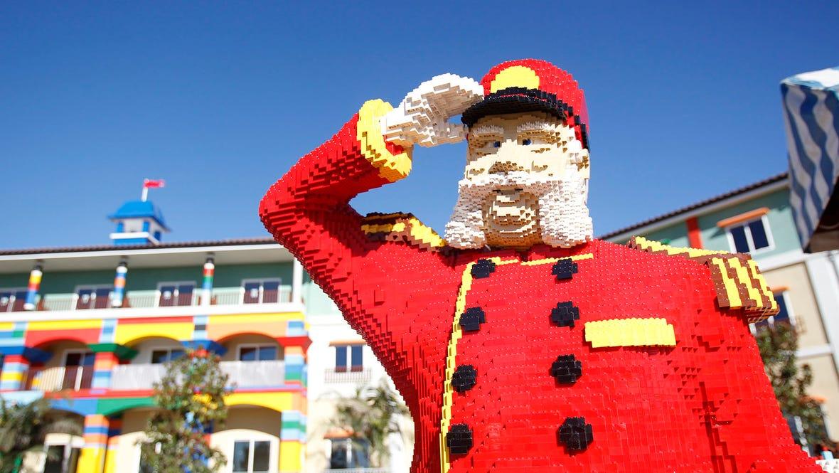 LEGO Bell Captain -Courtesy LEGOLAND California