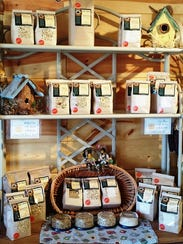 Products at the Busy Bee County Store.