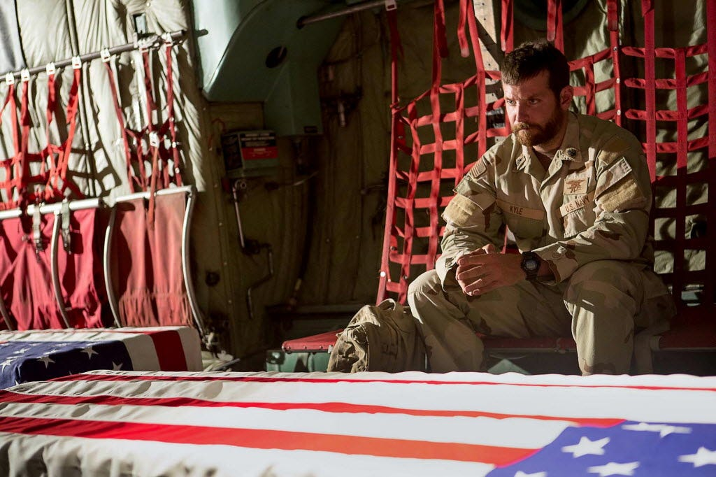 Sneak peek: Bradley Coopers vow to AMERICAN SNIPER