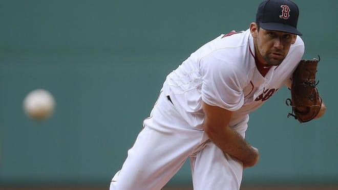 Nathan Eovaldi will serve as the Red Sox starting pitcher on Opening Day.