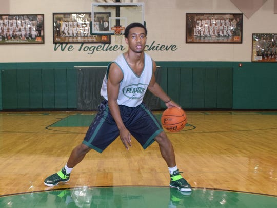 Peabody's Jacoby Ross was a standout performer at the Houston National Summer Showcase.