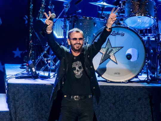 Ringo Starr and His All-Starr Band perform in 2015 at Kings Theatre in Brooklyn, N.Y.