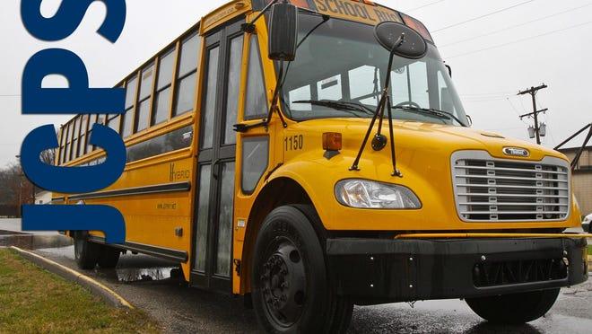 A new JCPS hybrid school bus.Dec. 05, 2011