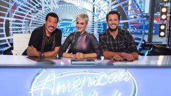 """American Idol"" judges Lionel Richie, Katy Perry and Luke Bryan."