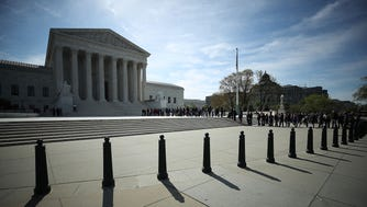 The Supreme Court heard oral arguments Wednesday on President Trump's immigration travel ban that applies mostly to majority-Muslim countries.