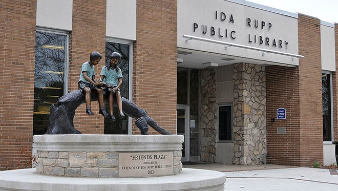 Ida Rupp Public Library, at Third and Fulton streets in downtown Port Clinton.