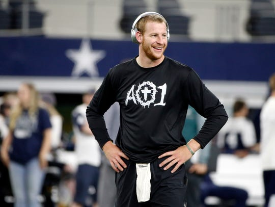Carson Wentz's AO1 Foundation and the Connect Church partnered to launch Thy Kingdom Crumb food-truck service last summer. Now the celebrity-backed charity has set up headquarters in the former Rockhill site in Cherry Hill.