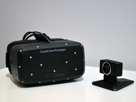 Oculus Rift 'Crystal Cove'