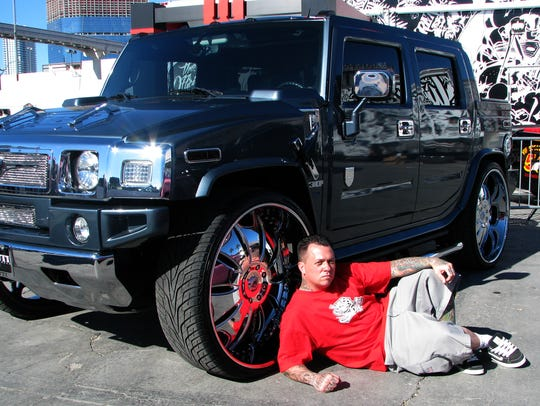 West Coast Customs chief Ryan Friedlinghaus shows off