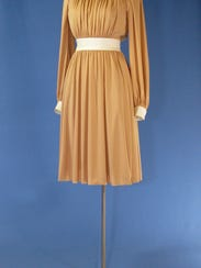 The dress worn by former first lady Betty Ford during