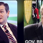 A screen shot from a pro-Ted Cruz super PAC's video attacking Iowa Gov. Terry Branstad.