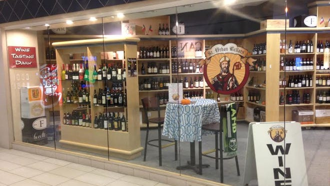 St. Urban Cellars has relocated from Gayle's Italian Market to the north building of Salem Center mall on the second floor next door to Shoe Mill next to the sky bridge to Macy's department store, owner John Swanson said.