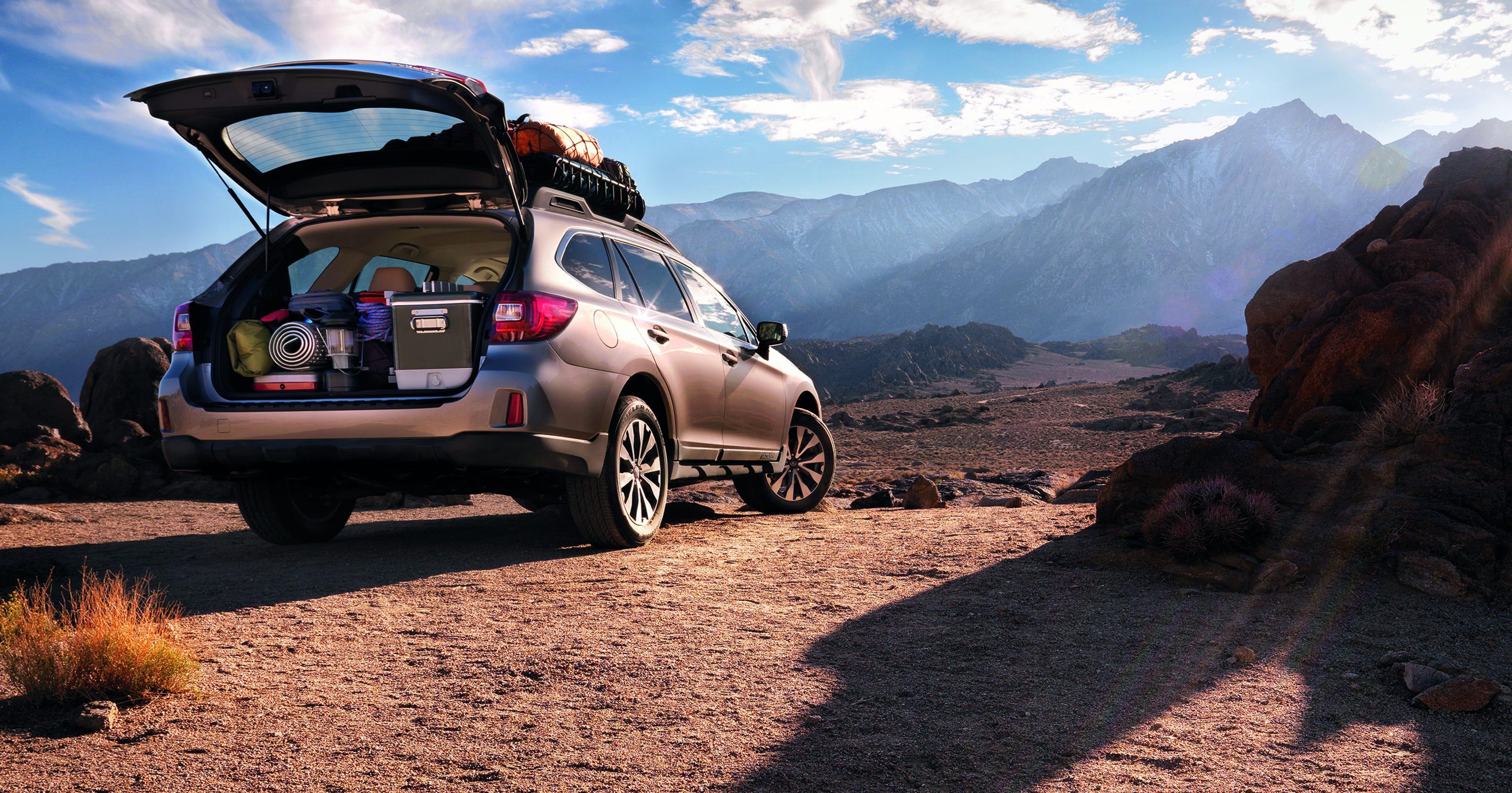2015 Subaru Outback: great mpg, driving behavior