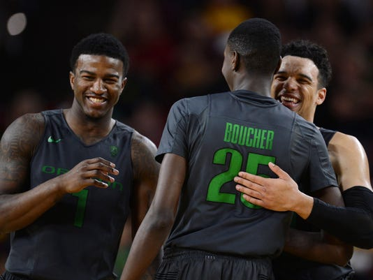 NCAA Basketball: Oregon at Arizona State