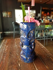The Molokai Mex at Hula's Modern Tiki features an edible