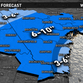Possible snowfall accumulation for Wed.-Thanksgiving