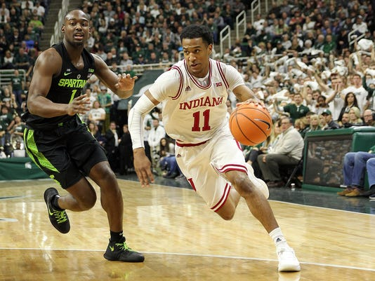 NCAA Basketball: Indiana at Michigan State