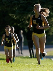 Exchange student Emily Issel was second for the Raiders