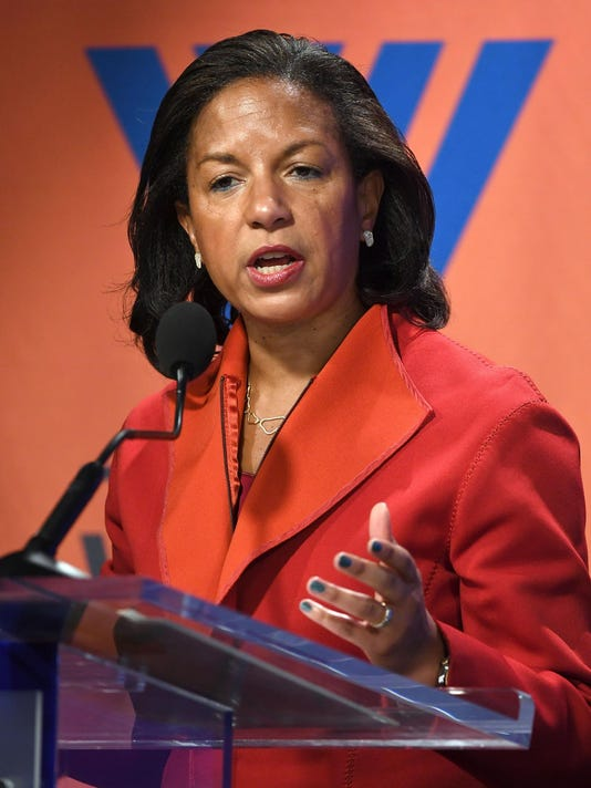 Trump says Susan Rice acted improperly on intercepts; she says no way