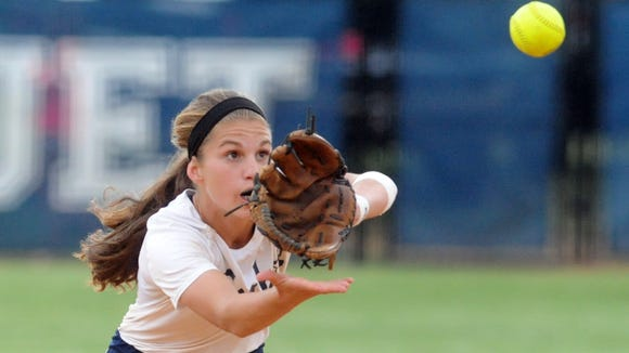 Enka rising senior Jasmine Palmer has committed to play college softball for Florida State.