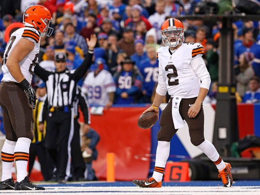 NFL: Cleveland Browns at Buffalo Bills